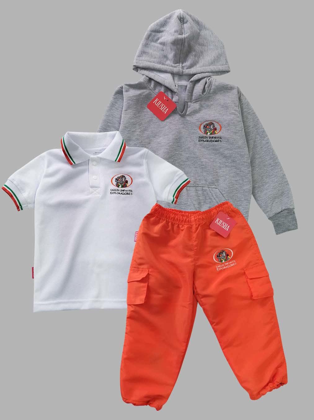 uniformes para jardin